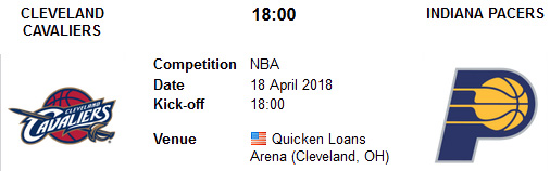 Cleveland Cavaliers vs Indiana Pacers en VIVO