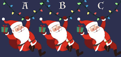 Figure: Ho Ho Ho! Which Santa is different?