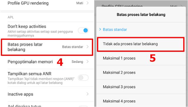 Cara Mengatasi HP Xiaomi Lemot dan Hang - Latar Belakang
