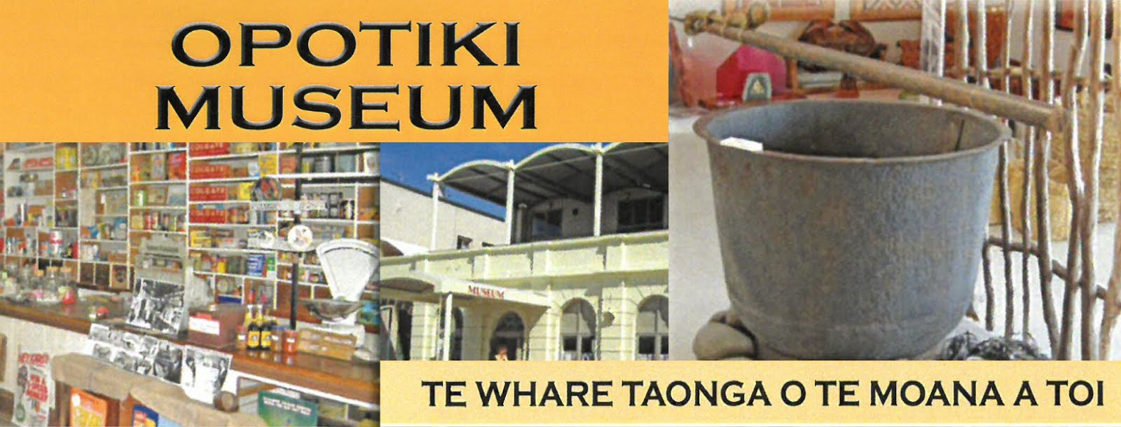 Supported by Ōpōtiki Museum