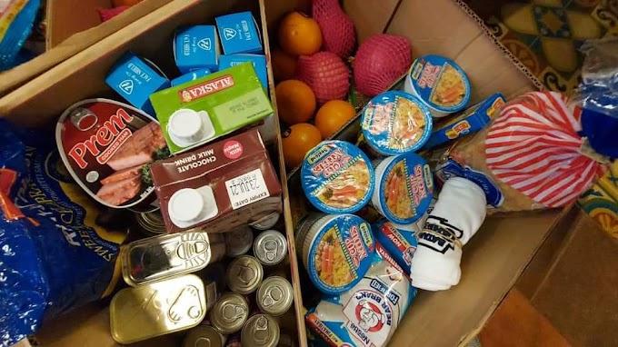 50kg bigas at groceries handog ni Mayor Emeng sa mga COVID-19 patients sa Gapan