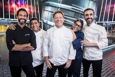 Mestre do Sabor estreia na Globo com Claude Troisgros