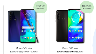 Google Fi Offering $50 Off on Moto G Stylus & Moto G Power