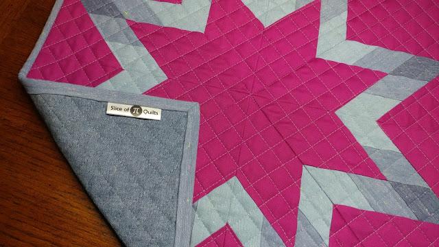 Satin quilt labels from EverEmblem