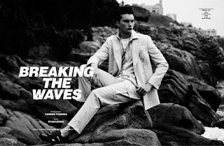 Breaking the Waves: Tyler by Tamihio Yoshida for MMSCENE Magazine