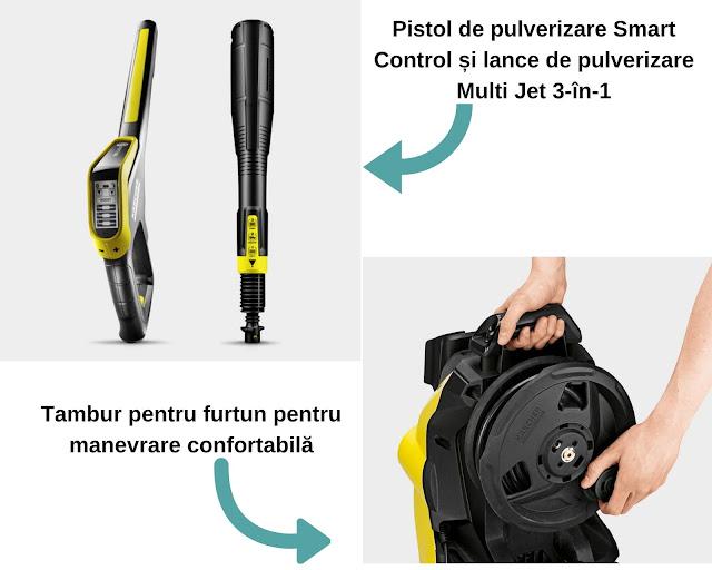 APARAT DE SPALAT CU PRESIUNE K 7 PREMIUM SMART CONTROL