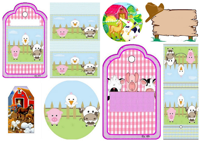 The Farm for Kids: Free Printable Candy Bar Labels.