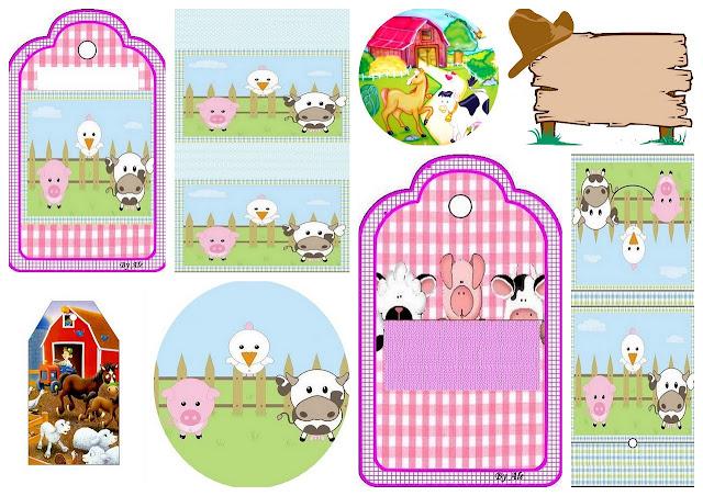 La Granja Infantil: Etiquetas para Candy Bar para Imprimir Gratis.