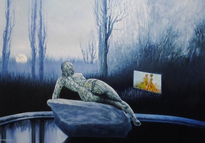 Польский художник-сюрреалист. Mariusz Zdybal