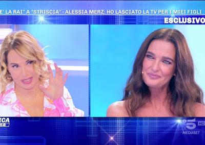 Barbara D'Urso Alessia Merz domenica Live