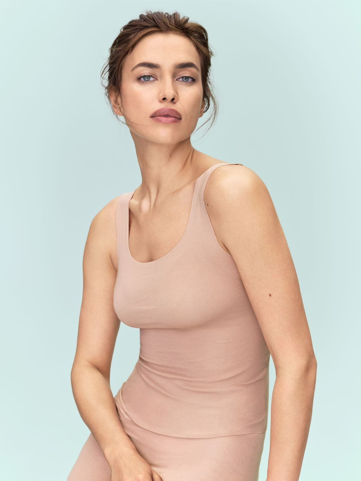 Irina Shayk gets into silk designs for Intimissimi Campaign