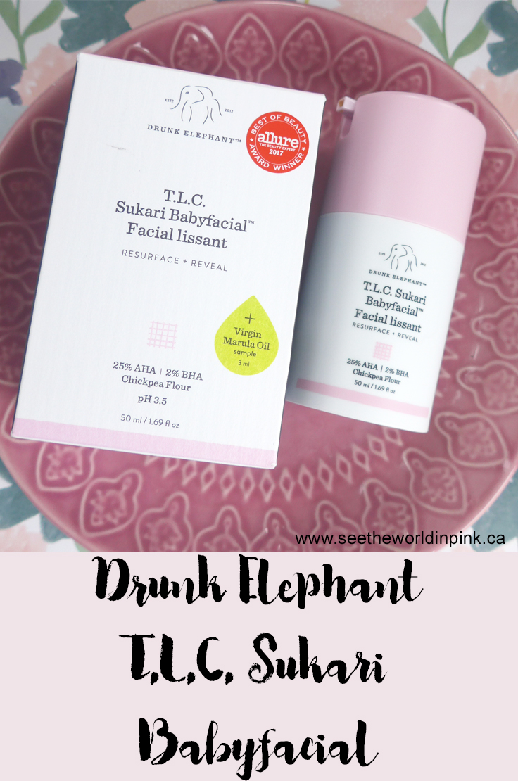 Mask Wednesday - Drunk Elephant Babyfacial