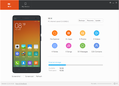 Cara Backup Data Xiaomi Dari Mi PC Suite