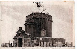CPA Le Puy-de-Dôme, l'Observatoire