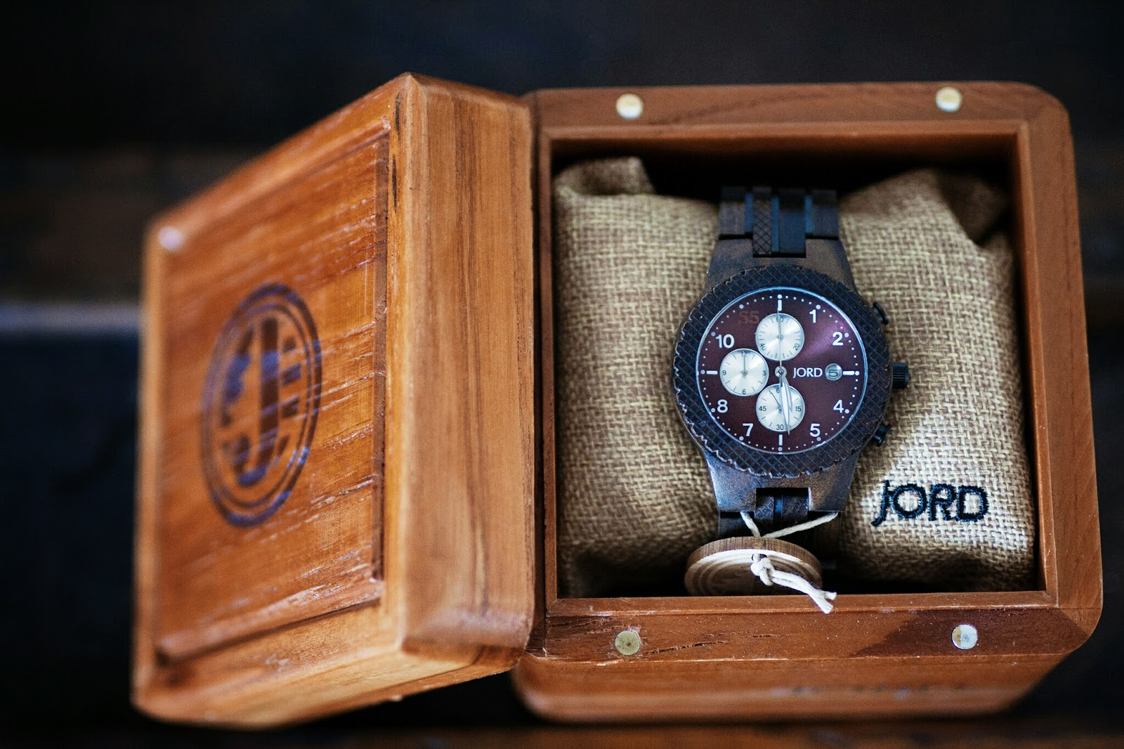 JORD Conway Wood Watch Giveaway Valentines Gift for Him