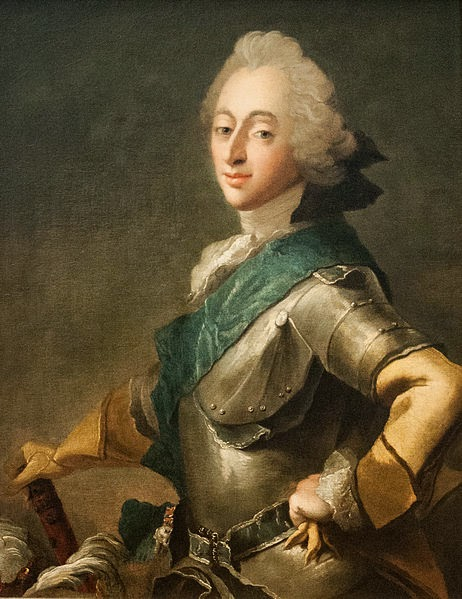 Frederik V of Denmark by Carl Gustaf Pilo