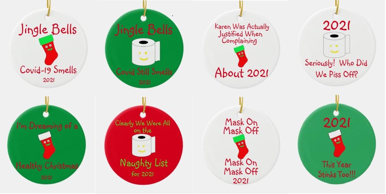 Covid-19 Christmas Ornaments