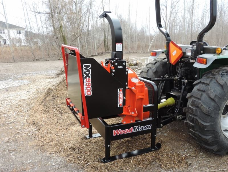 Woodmaxx Mx 9900 Pto Wood Chipper