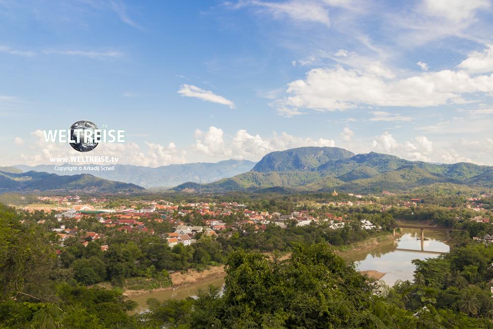 UNESCO City Luang Prabang in Laos, Asia, world travel, arkadij schell