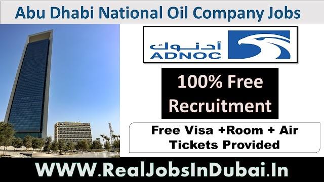 Abu Dhabi National Oil Company Jobs In UAE .