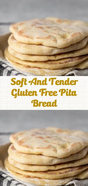 Soft And Tender Gluten Free Pita Bread