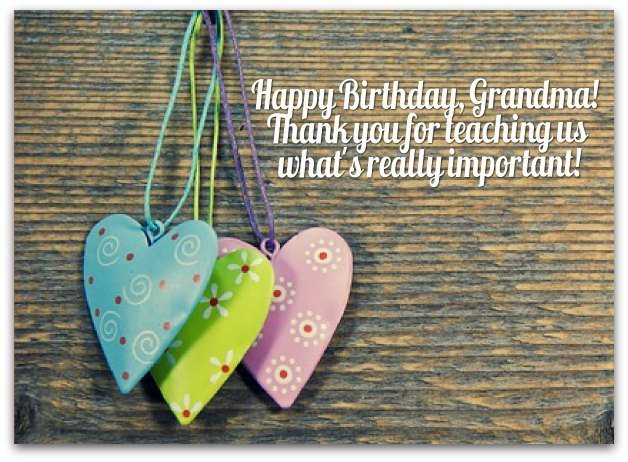 Birthday Wishes and Messages for a Grandmother