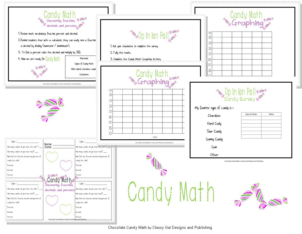 Classy Gal Designs And Publishing A Fun Math Activity