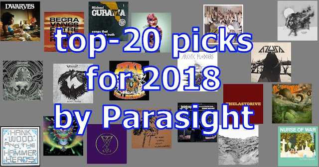 20 releases picks for 2018 by Parasight