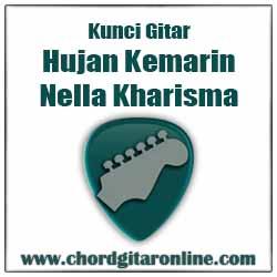 Kunci Gitar HUJAN KEMARIN Versi NELLA KHARISMA Kunci Gitar NELLA KHARISMA - HUJAN KEMARIN