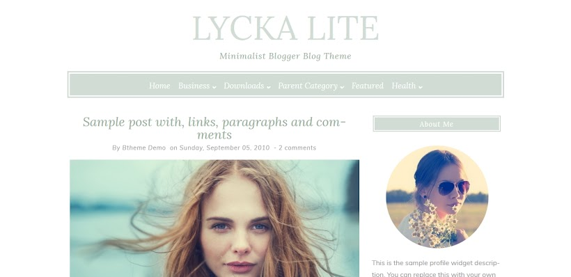 Lycka lite Free Blogger Template