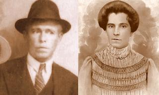 Aurélio e Ambrosina.