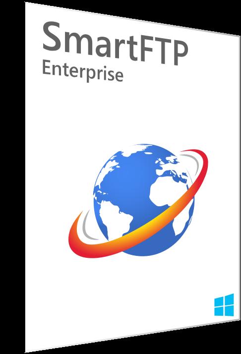 SmartFTP Enterprise 9.0.2735.0 poster box cover