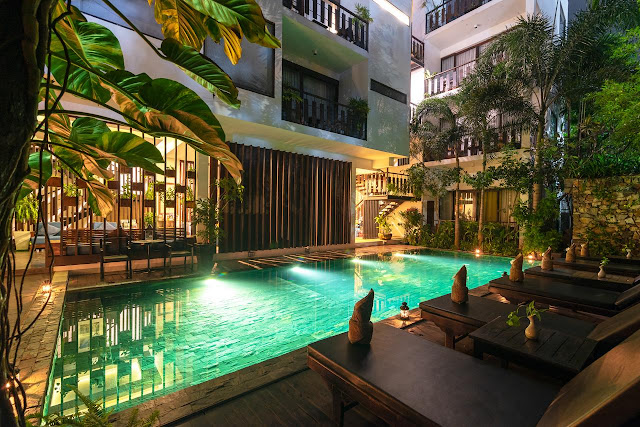 King Rock Boutique Hotel en Siem Reap