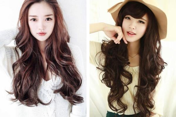 Model Rambut Panjang Wanita Korea Terbaru Tahun 2020