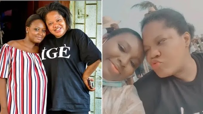 Toyin Abraham makes huge promises to Adebimpe on her birthday