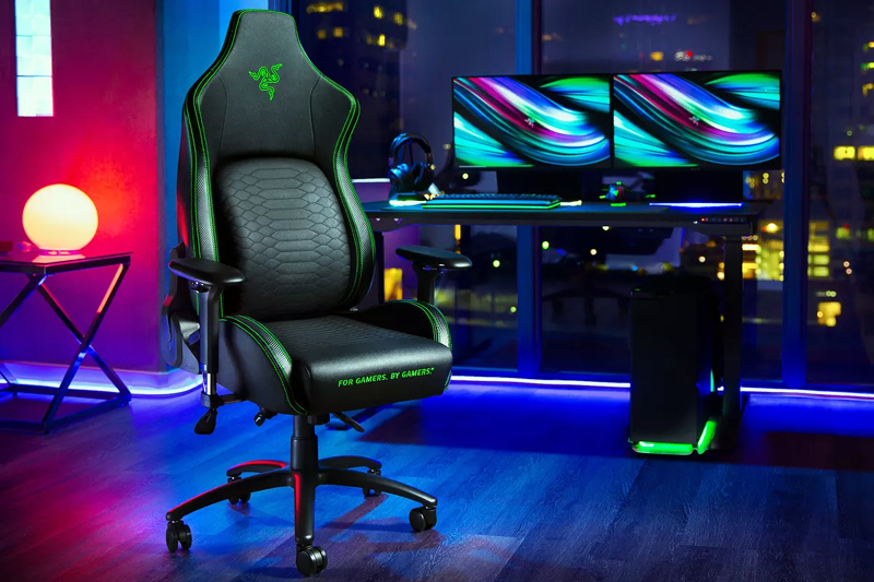 Razer's First Gaming Chair Improves Your Posture