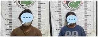 Perangi Narkotika, Satnakorba Polres Pelabuhan Makassar Ciduk  dua Pelaku Narkoba di Pelabuhan Soeta