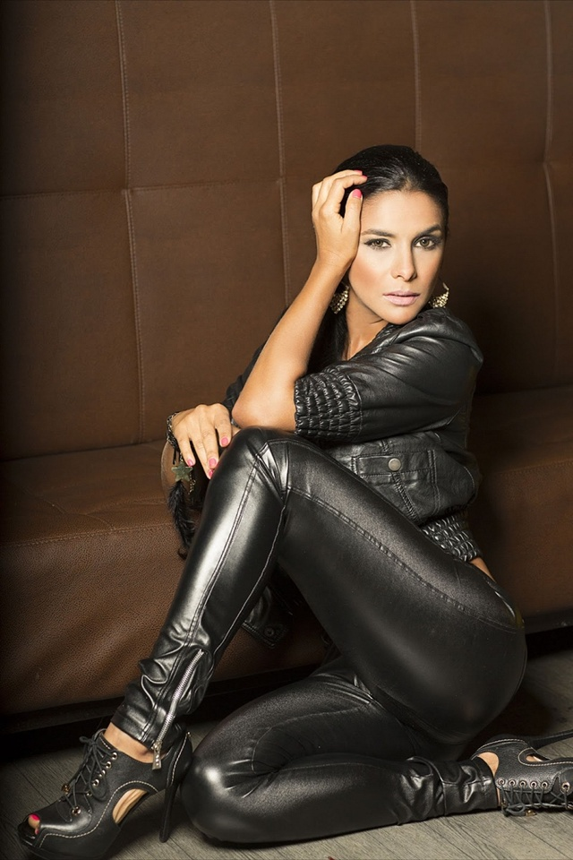 Latinas in leather