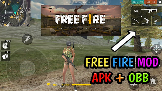 Free Fire Mod Apk Terbaru 2019 [Cheat Auto Aim|No Root]