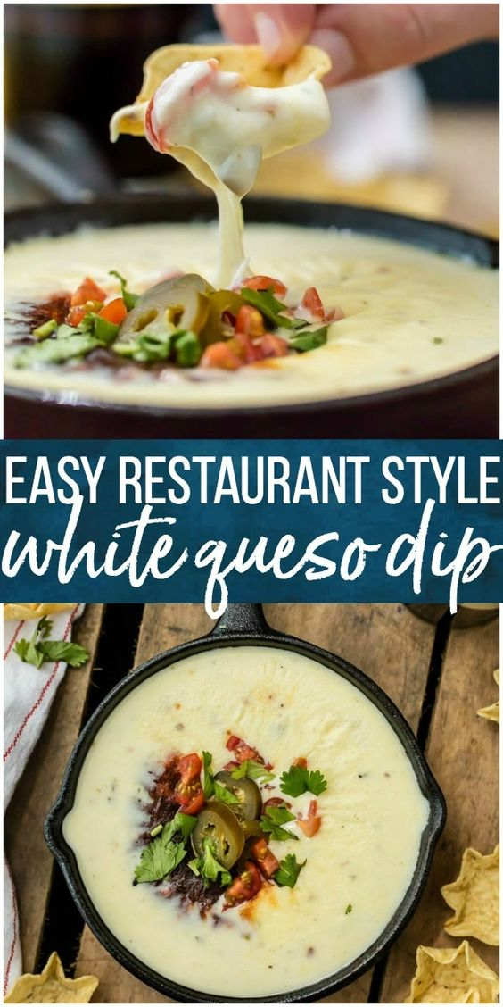 Easy White Queso