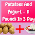 THE MOST DELICIOUS DIET WITH POTATO AND YOGURT – 5 KG IN JUST 3 DAYS!