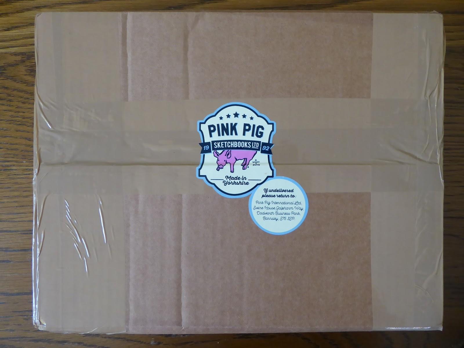 Pink Pig A4 Scrapbook