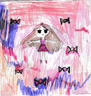 """детский рисунок """"сладкий сон"""""""