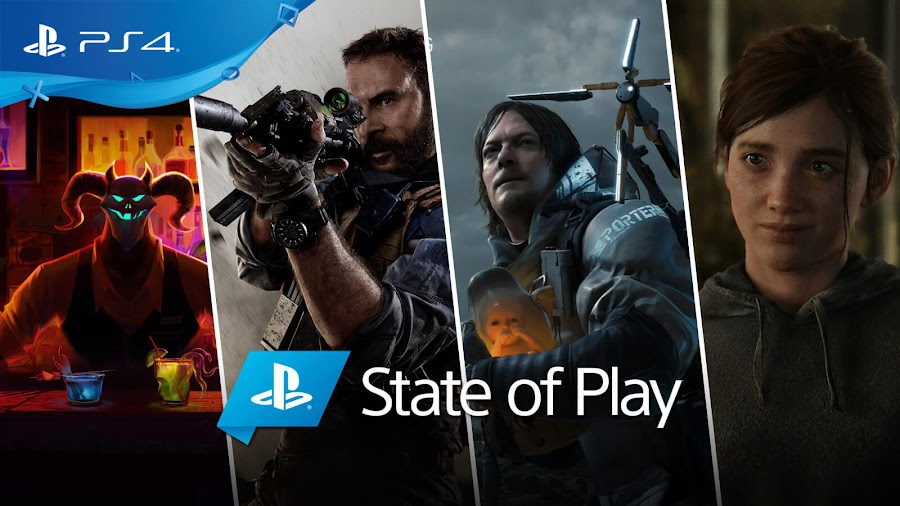 playstation state of play 2019 announcements sony ps4 after party call of duty modern warfare death stranding the last of us part 2
