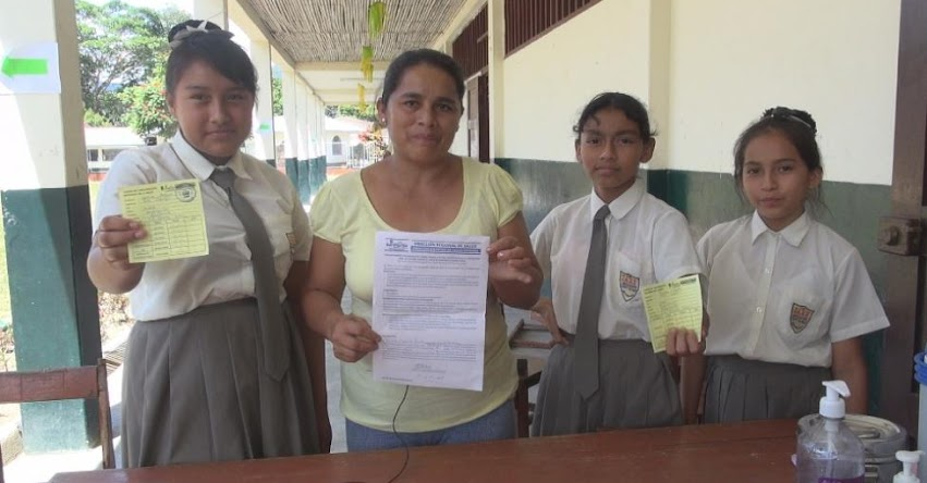 Cerca de 30 mil estudiantes mujeres comprendidas entre 9 a 13 años de edad se vacunarán para prevenir el Virus del Papiloma Humano-VPH en la Región San Martín