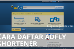 Cara Daftar AdFly URL Shortener Bagi Pemula Mudah Lengkap