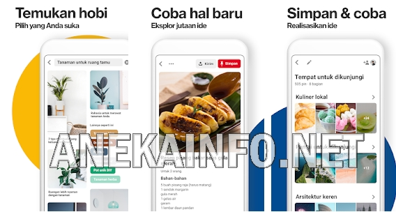 Cara Download Gambar Dan Video Di Pinterest Lewat Hp Android