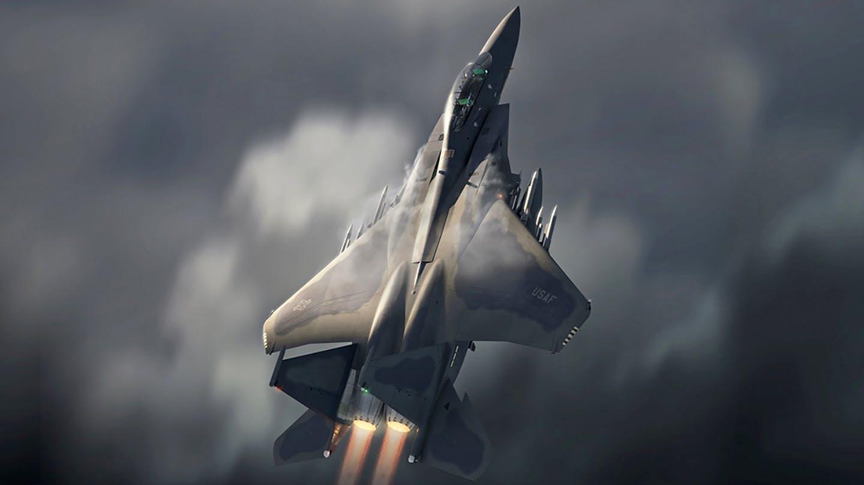 F-15EX Eagle Fighter Jet