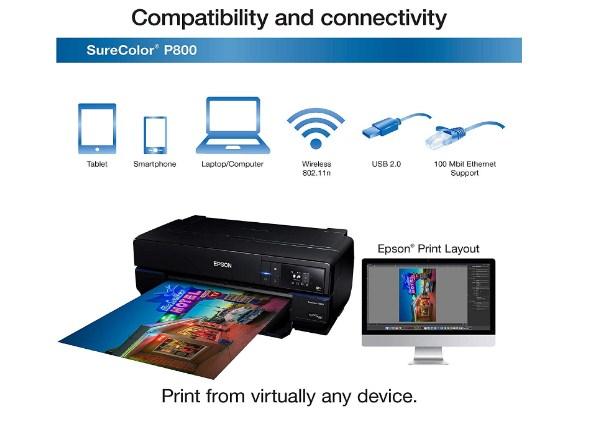 Epson SureColor P800 Driver Downloads