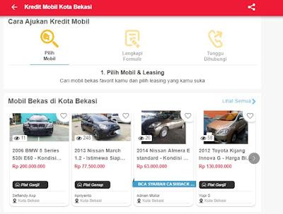 Cara Kredit Mobil Garasi